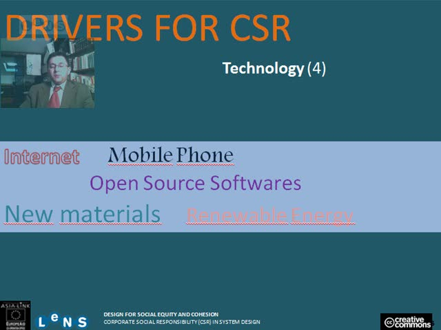 Preview of Part III - Drivers for CSR